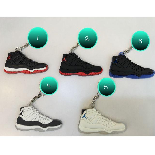 Jordan 鞋子吊飾鑰匙圈~五個以上含運喔