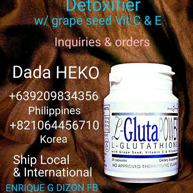 L-GLUTAPower 462 Glutathione with Grapeseed, Vit C & E
