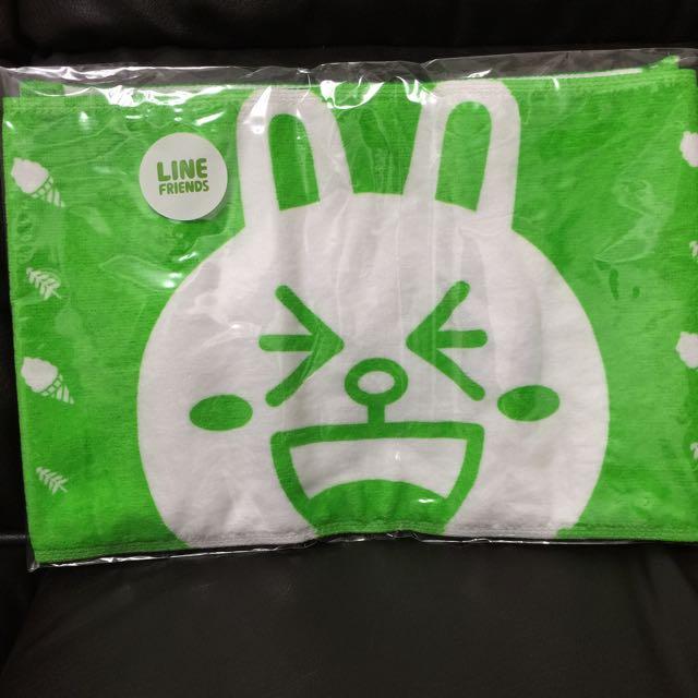 LINE CONY 兔兔毛巾