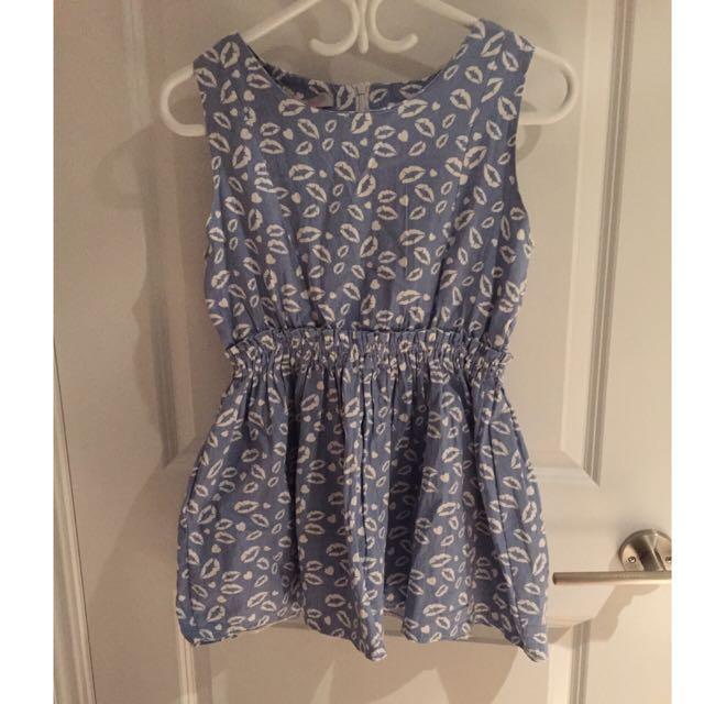 Lip💋pattern Dress