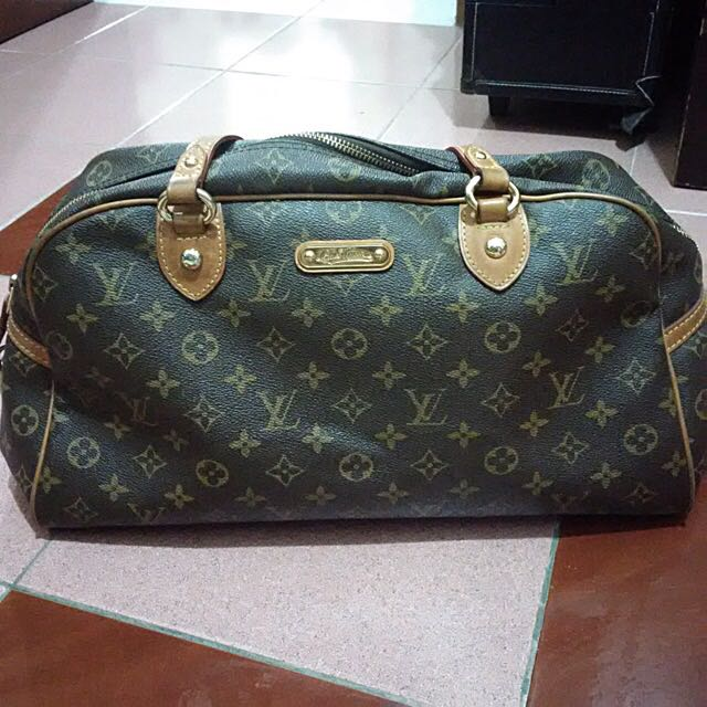 LV Montorgueil Monogram Authentic Bag