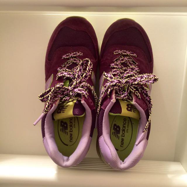 正版NB 574女球鞋
