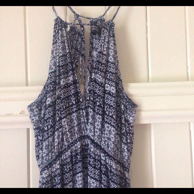 Noughts & Crosses Maxi Dress Size 8