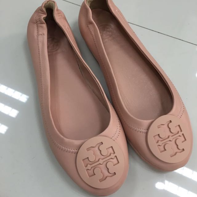 0a8d92b67e8ee ... sweden tory burch minnie travel flats footlocker pictures cheap online  free shipping best wholesale gibdqu c1452