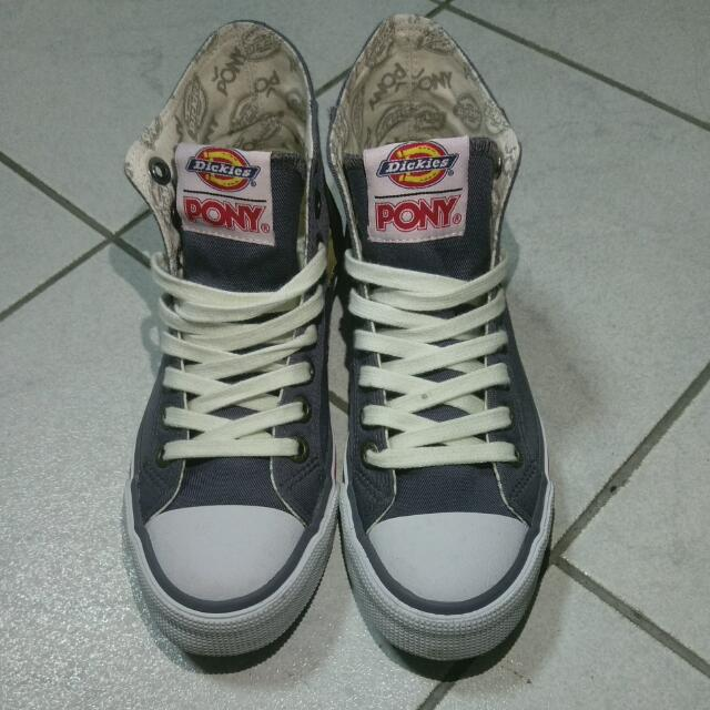 降價!Pony x Dickies 聯名經典高筒帆布鞋