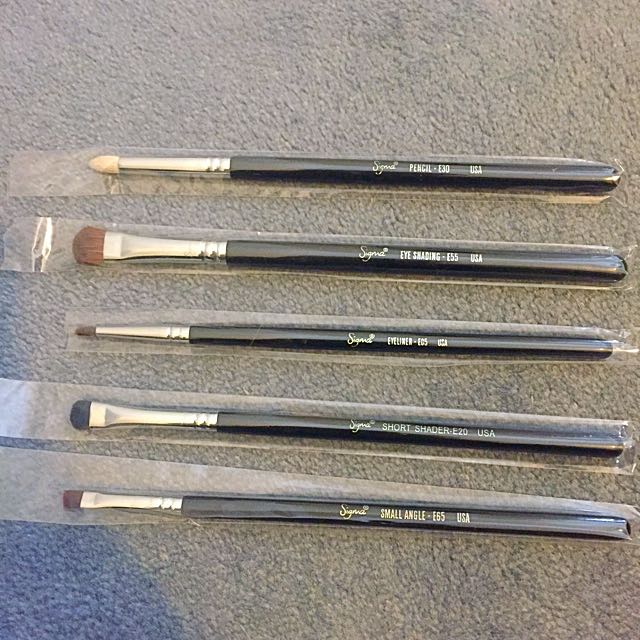 Sigma Eye Brushes $13 Each