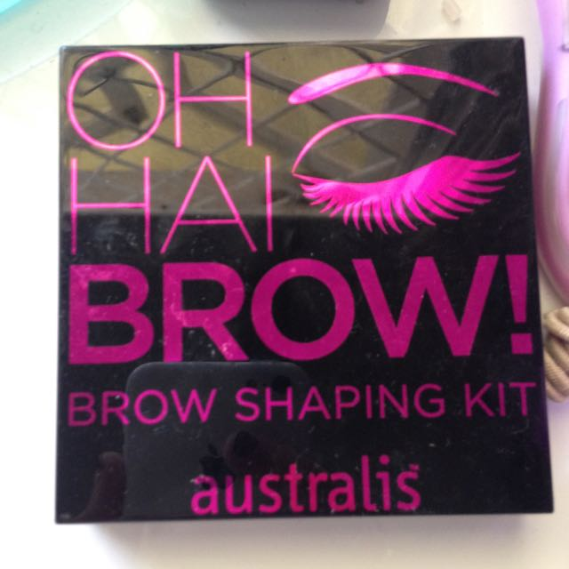 Used Once Brow Kit