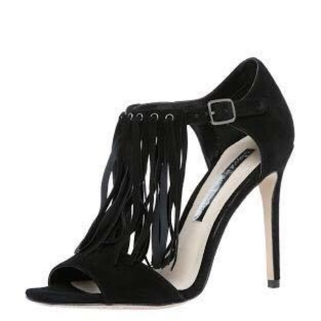 Wayne Cooper Echo sz 39 black Suede shoes brand New