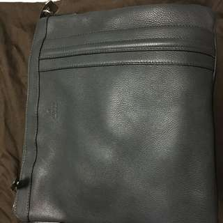 Authentic Leather Gucci Sling Messenger Bag