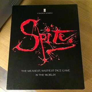 Spite : A Deadly Game Of Wits And Wiles