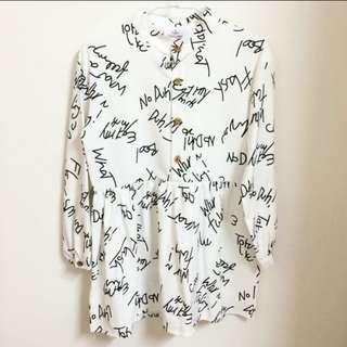 字母連衣裙