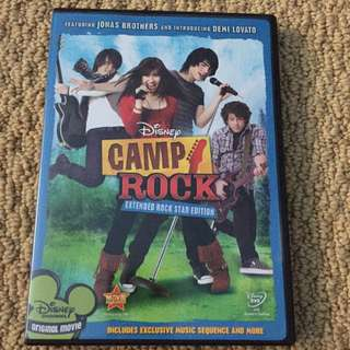 Disney Camp Rock Movie