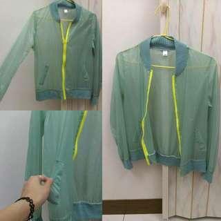 果綠青綠 防曬外套 罩衫