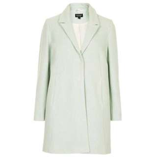 🌟 Topshop - Mint Green Coat