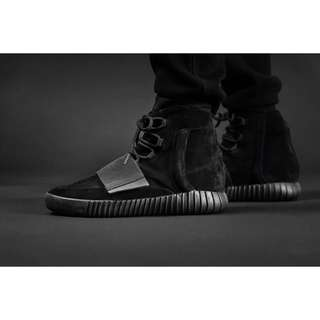 US 6 Yeezy Boost 750 Triple Black