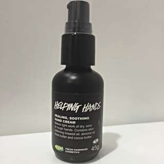 Brand New Lush Helping Hands Hand Cream
