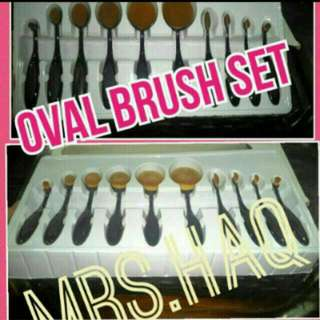 $35.00 ONLY!!! ONE TIME PROMO. OVAL BRUSH SET. PREORDER.  SERIOUS BUYER. KINDLY PM. NO NEGO. FREE NORMAL MAIL. ADD $4.00 For REG.MAIL