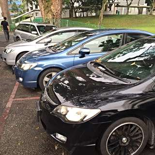 Many Civic For Rental!