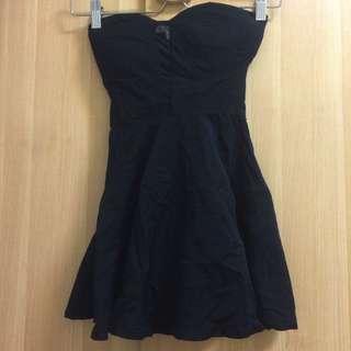 全新💫 Air Space 黑 平口 洋裝
