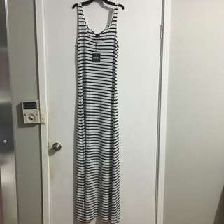Little Lies Striped Maxi