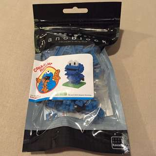 Cookie Monster Nanoblock