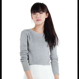 3 For RM50 The Tinsel Rack Grey Pullover