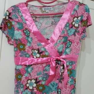 Kimono Style Maternity Cum Nursing Top (From Mum R'us)