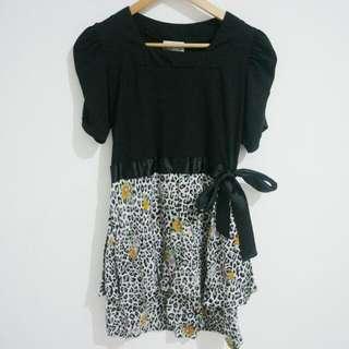 Preloved - Mineola Side Bow Dress