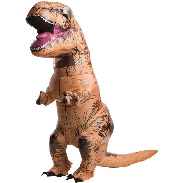 恐龍裝/暴龍裝。美國侏羅紀授權正版