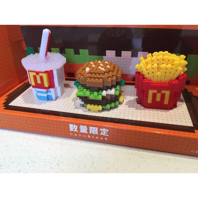 日本麥當勞玩具 (一組三個)現貨