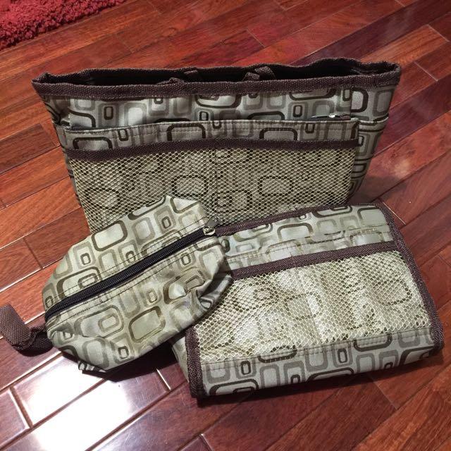 皮包 收納 包中包 三件一組
