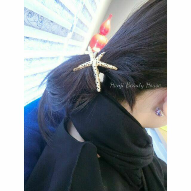 現貨_♛H0302 海星造型髮束