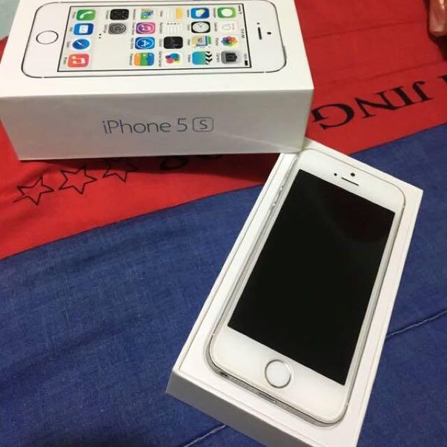 售 Iphone 5s 16g 銀