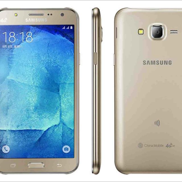 三星 Samsung J7 金色 代售