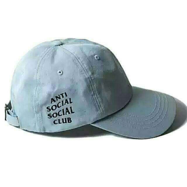 528a78bbe0e ANTI SOCIAL SOCIAL CLUB BLUE BASEBALL CAP
