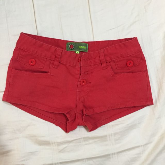 Clearance Romp Red Short