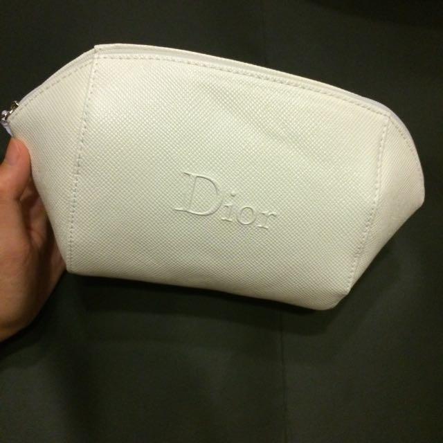 Dior大容量化妝包