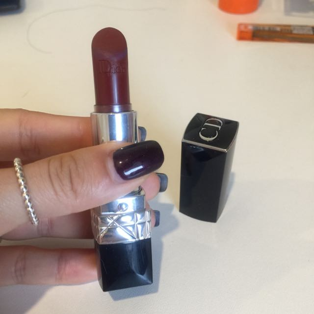 DIOR rouge lipstick 813(5th Ave)