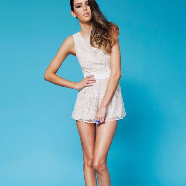 Finders Keepers Electric Kiss Playsuit