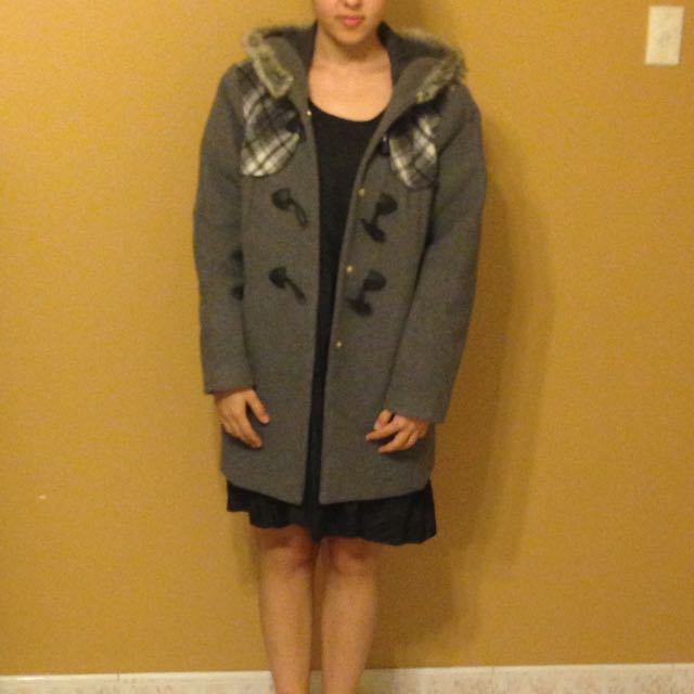 Grey Coat From miss shop