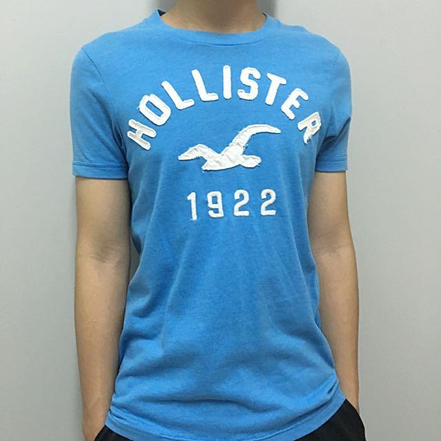 Hollister短袖藍色