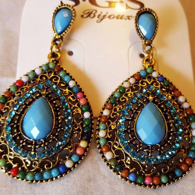 Lady Heart Vintage Earrings