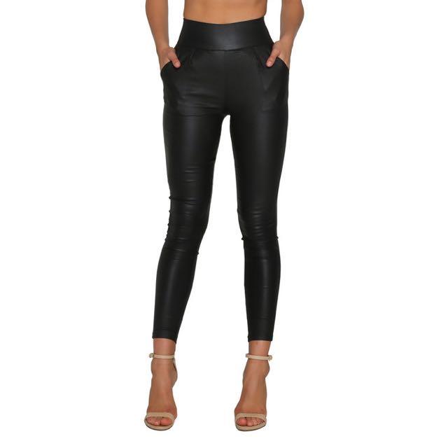 Meshki High Waisted Pants Size XS