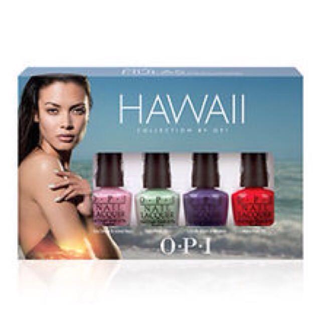 OPI浪漫夏威夷春夏系列-限量迷你組