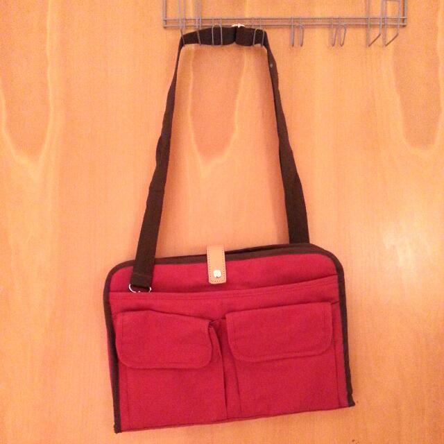 """Red laptop Bag 13"""""""