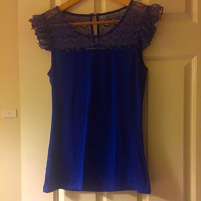 REVIEW Cobalt Blue top