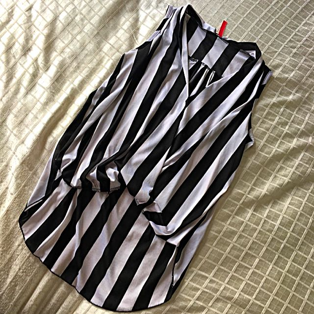 Striped Top, Size Small