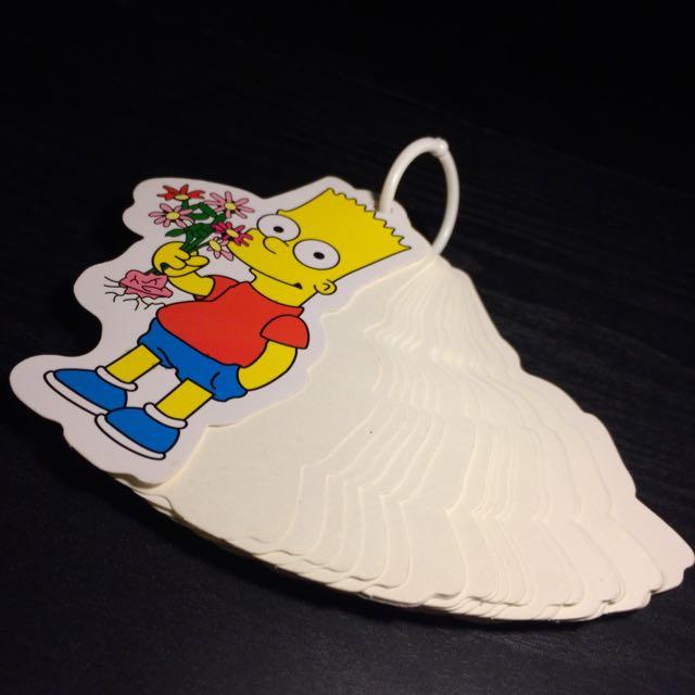 The Simpsons 辛普森 霸子 便條紙