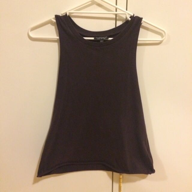 TOPSHOP dark Purple Tee