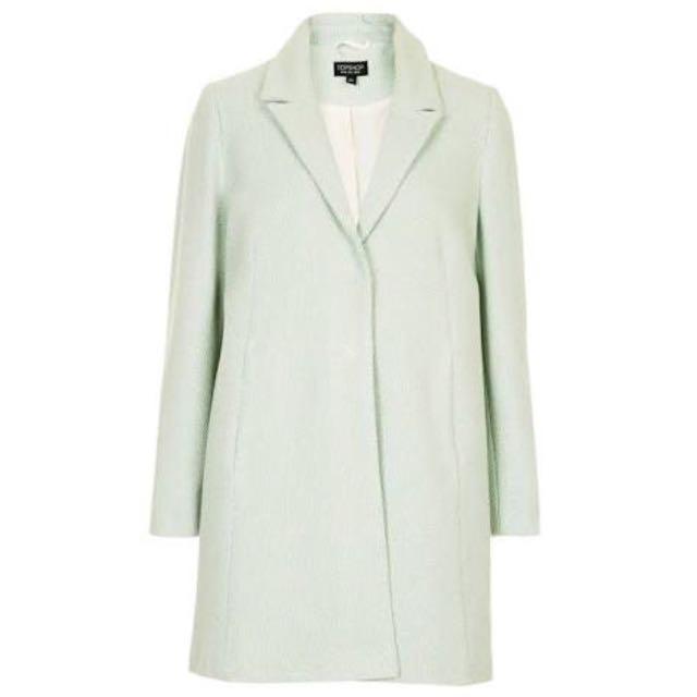 🌟 Topshop - Mint Green Coat